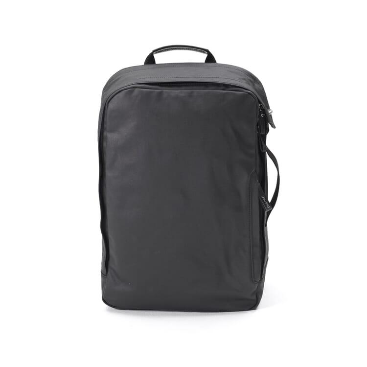 Rucksack Backpack, Tiefschwarz