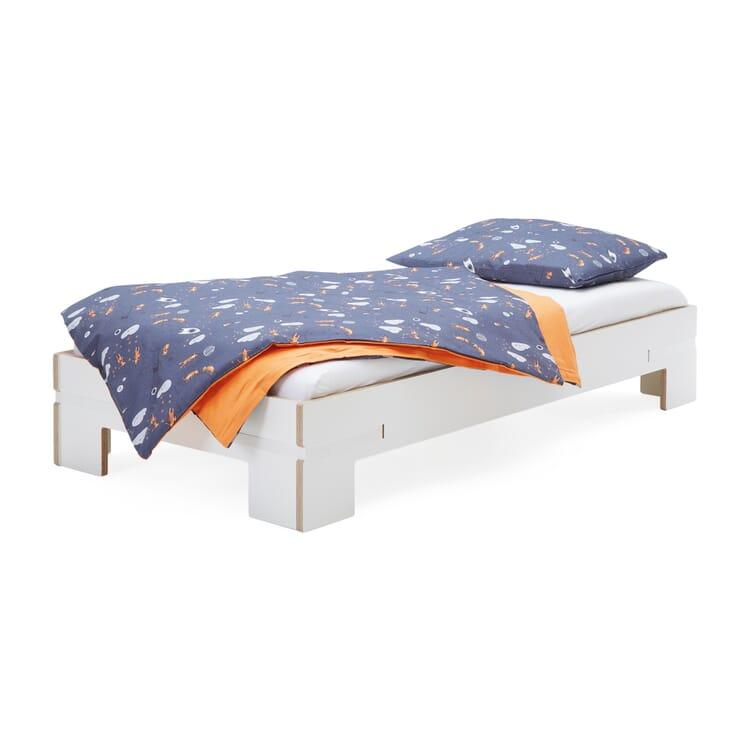Kinderbett Gurtbett weiß