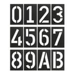 Hausnummer Spiekermann Industrial Schwarzgrau 3
