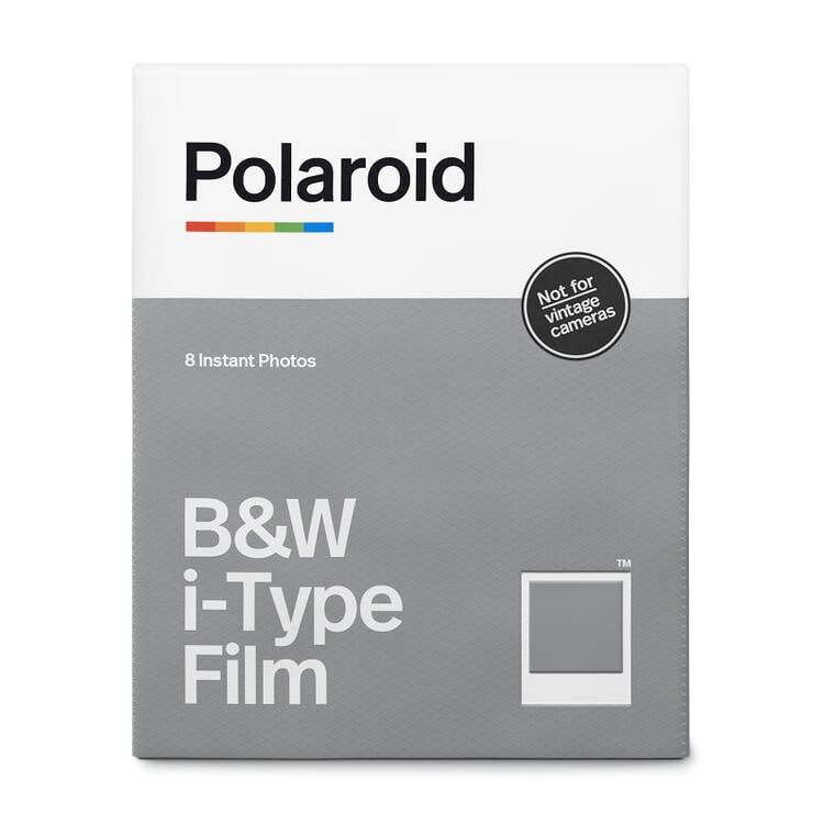 Filme für I-Type Polaroidkameras, Schwarzweiß (8 Stück)