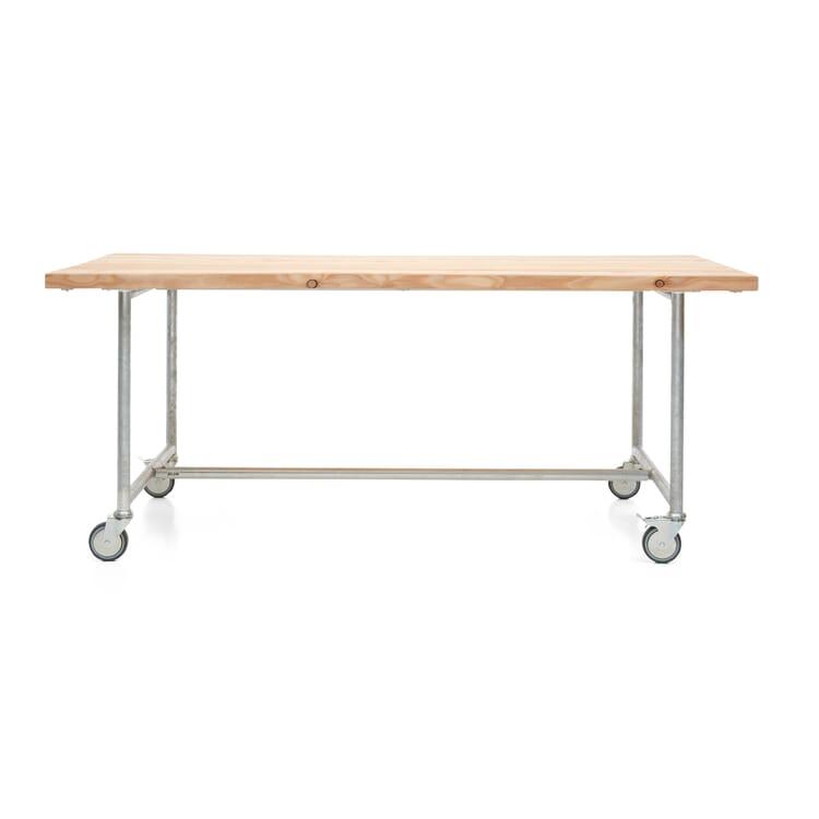 Tisch Jütland, rollbar