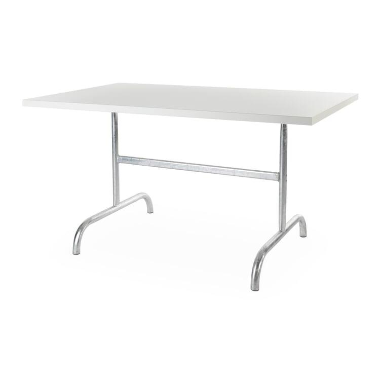 Tisch Säntis, rechteckig Weiß