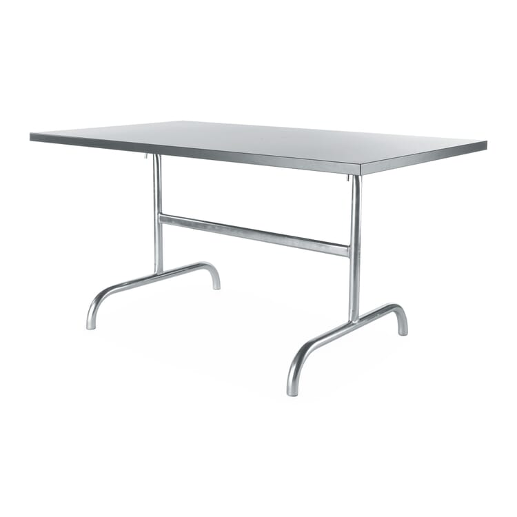 Tisch Säntis, rechteckig, Anthrazit