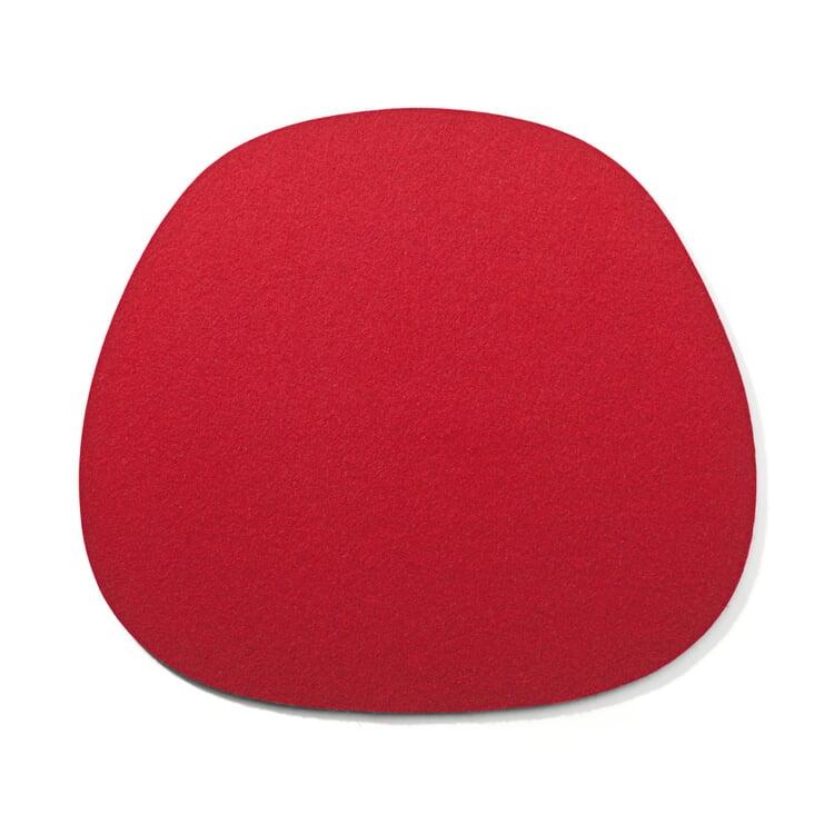 Sitzkissen Filz Spezial Rot