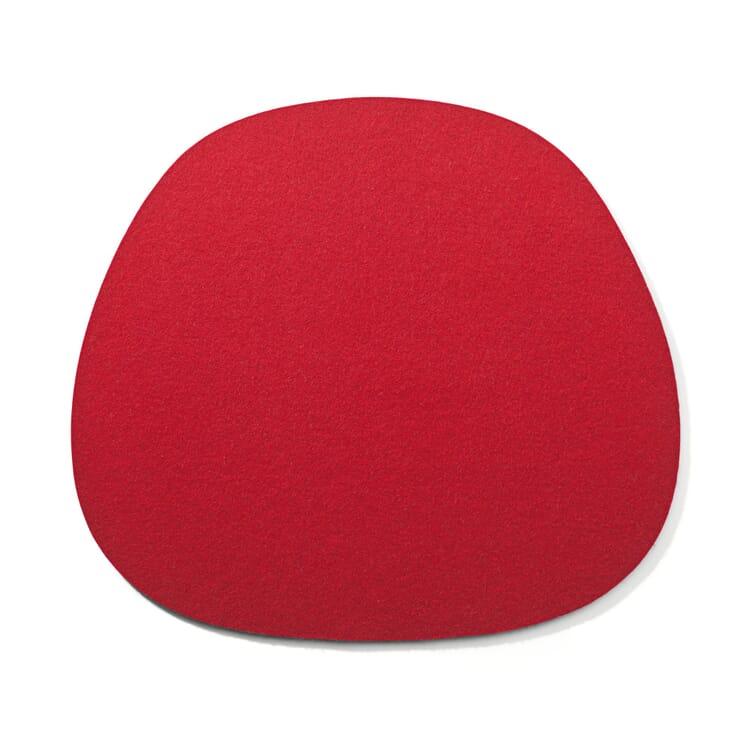 Sitzkissen Filz Spezial, Rot
