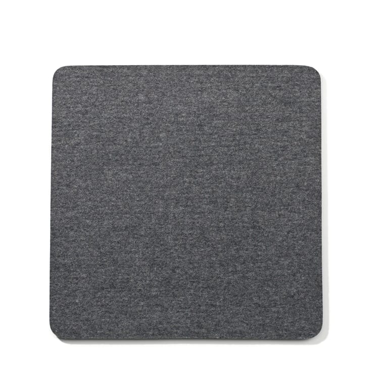 Sitzkissen Filz Quadrat