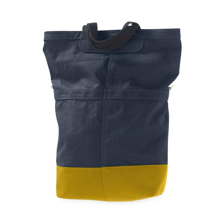 Radtasche Beutel Blau / Gelb