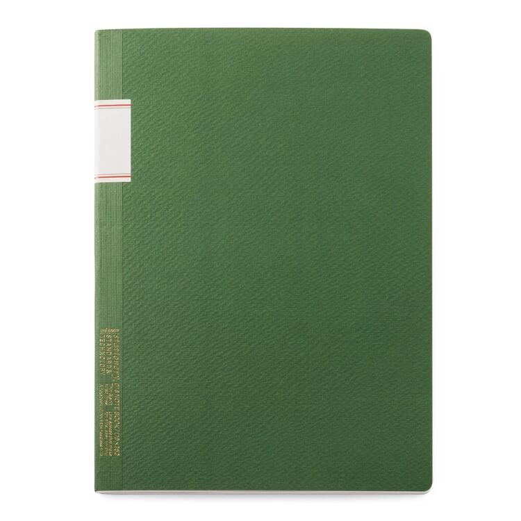 Japanisches Notizheft Grün