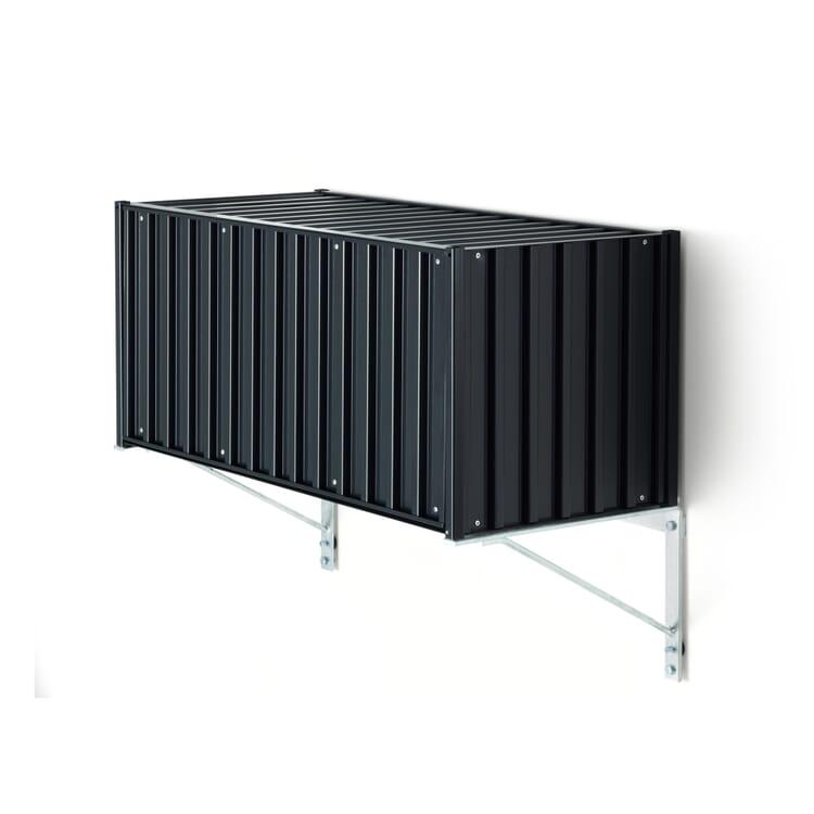 Gestelle zu Container DS, Wandhalterung Rack