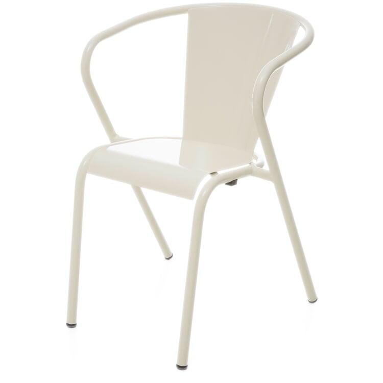 Stuhl Estoril, Perlweiß RAL 1013