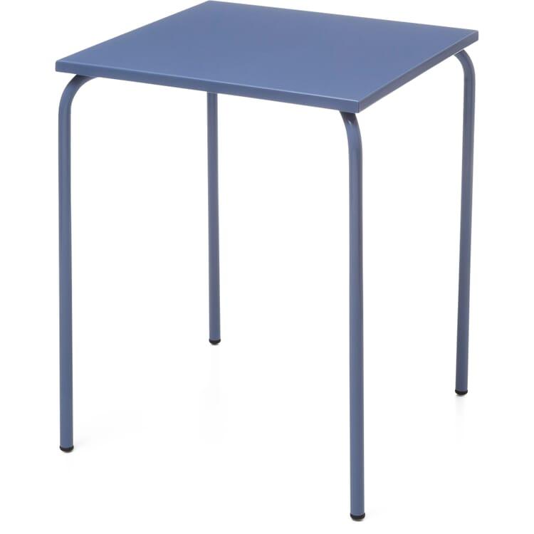 Tisch Estoril, Taubenblau RAL 5014