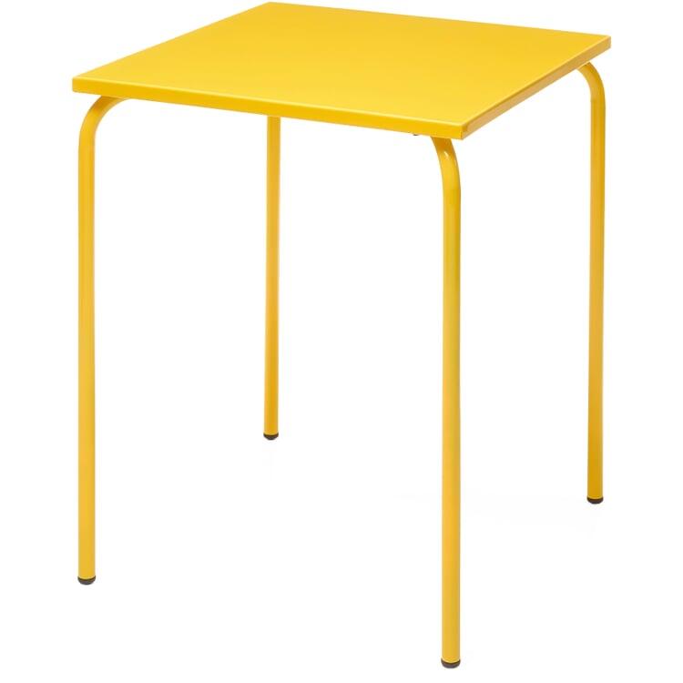 Tisch Estoril, Verkehrsgelb RAL 1023