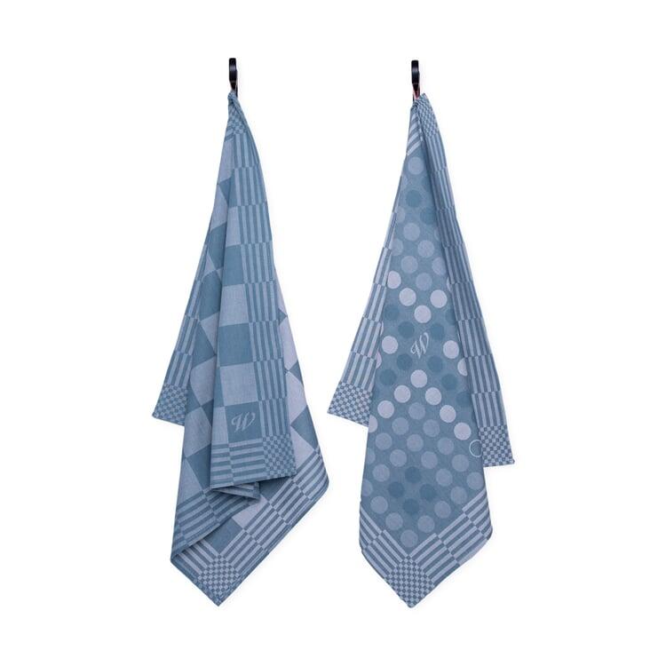 Geschirrtuch Tea Towel Blau
