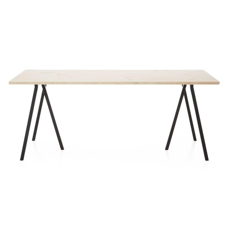 Tischplatte Uni, Natur, unlasiert