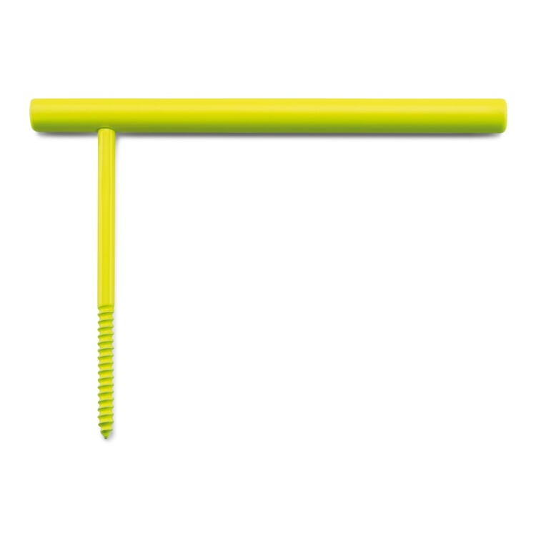 Toilettenpapierhalter Line Hook Leuchtgelb RAL 1026