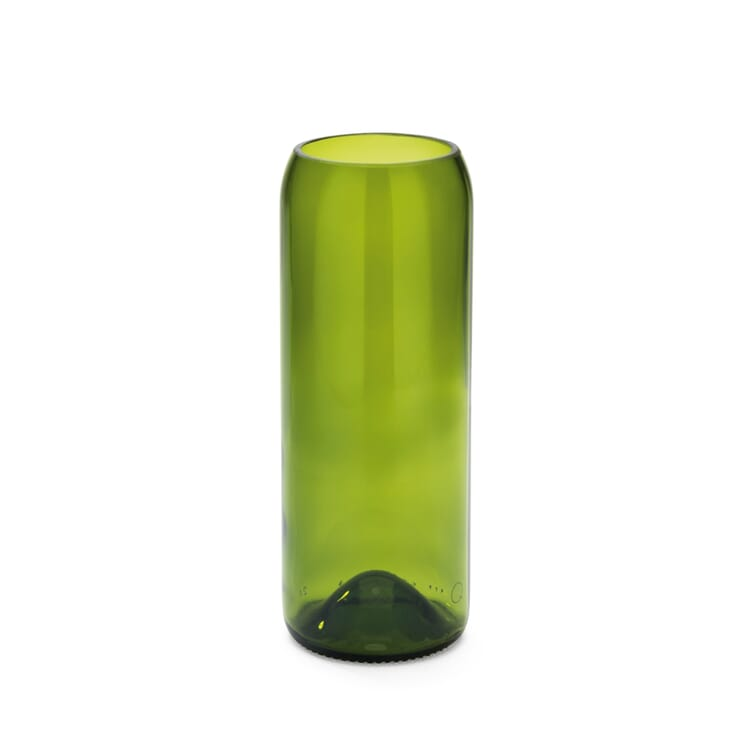 Vase Weinflasche, Mittel