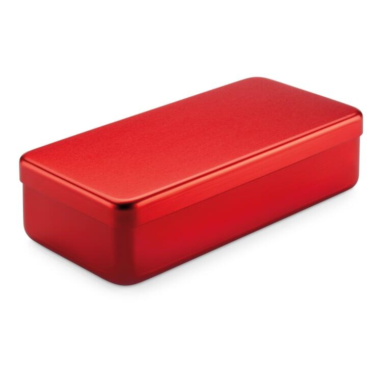 Kiste Alubox Hoch Rot