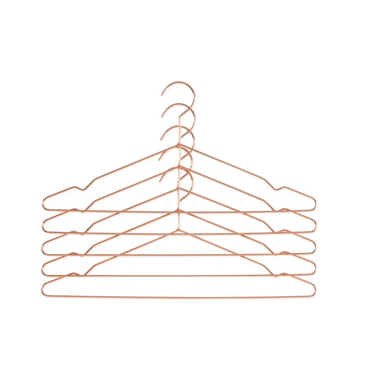 Kleiderbügel Hang, Kupferfarben