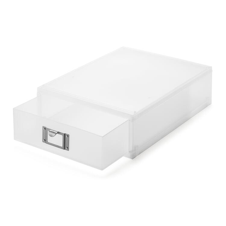 Schubladenbox GWD DIN A4 niedrig