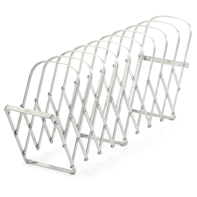 Tischsortierer Aluminium, 10 Fächer