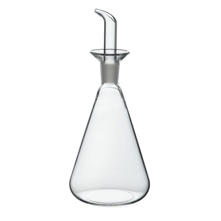 Öl- oder Essigflasche Borosilikatglas