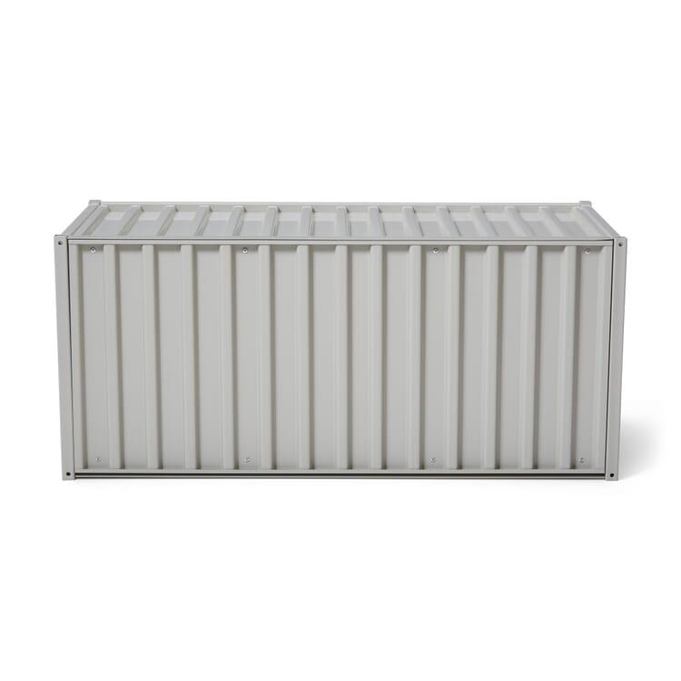 Container DS, Kieselgrau RAL 7032