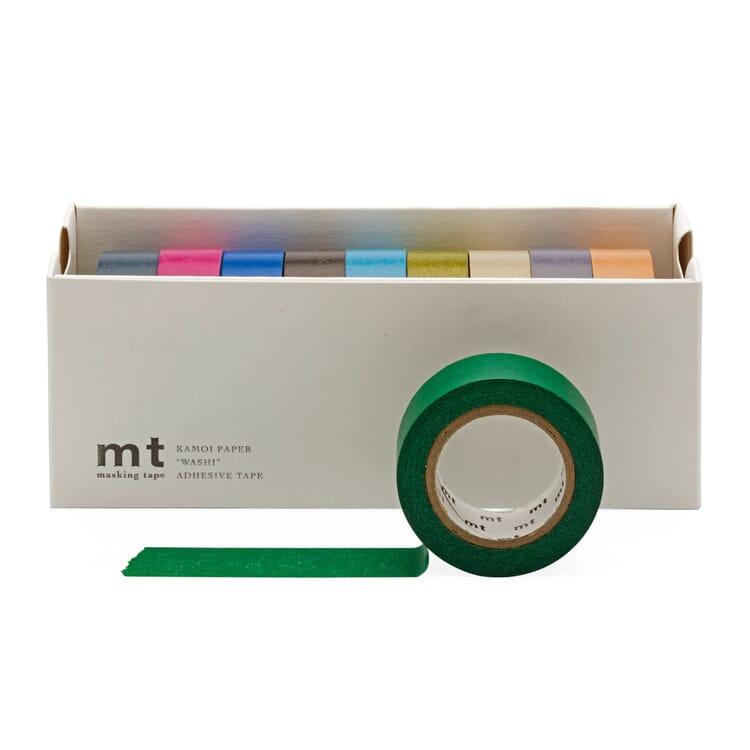 Papierklebeband MT, Gedeckte Farben