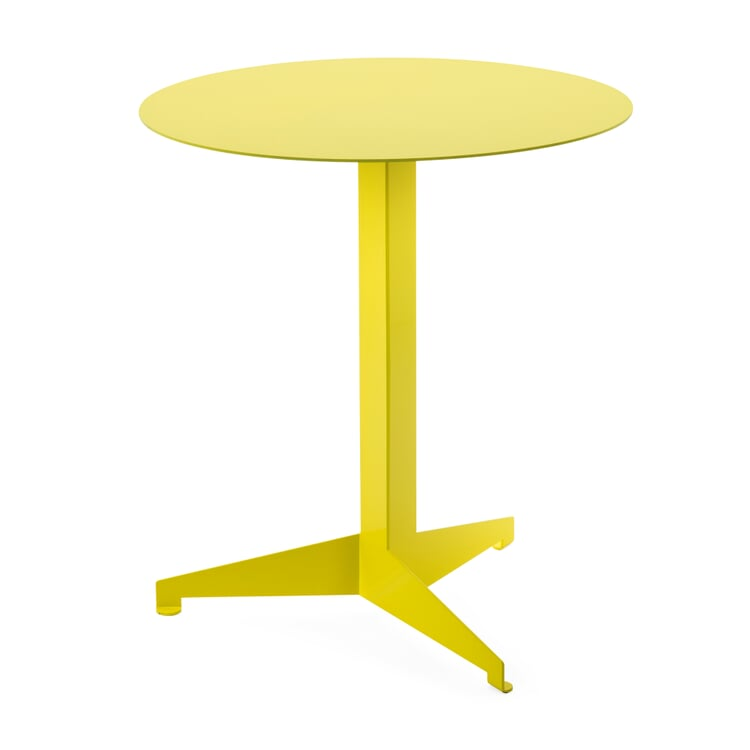 Tisch Construct, groß, Schwefelgelb RAL 1016