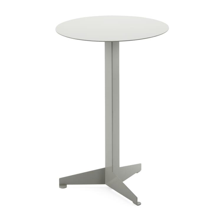 Tisch Construct, klein, Lichtgrau RAL 7035