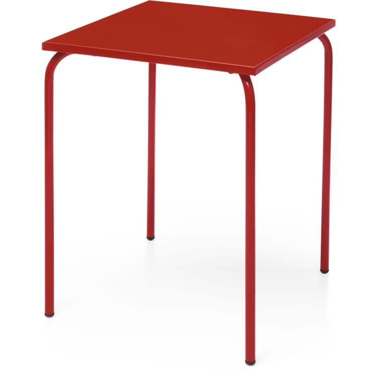 Tisch Estoril, Tomatenrot RAL 3013