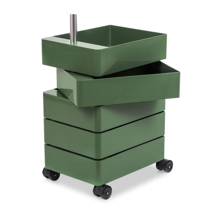 Container 360°, klein, Grün