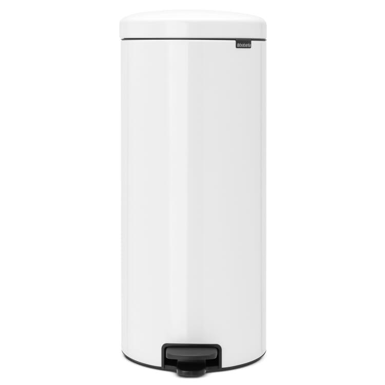 Treteimer Newicon 30 L, Weiß