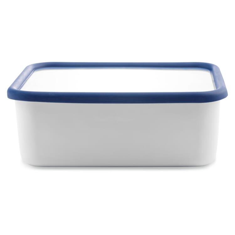 Vorratsbehälter Emaille Blauweiss, 2,8 l