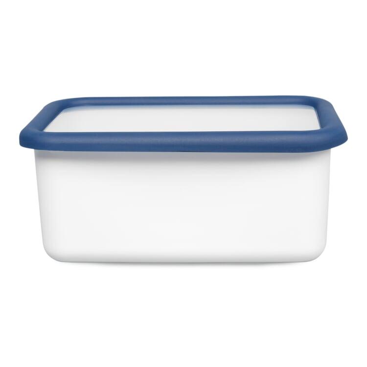 Vorratsbehälter Emaille Blauweiss 1,12 l