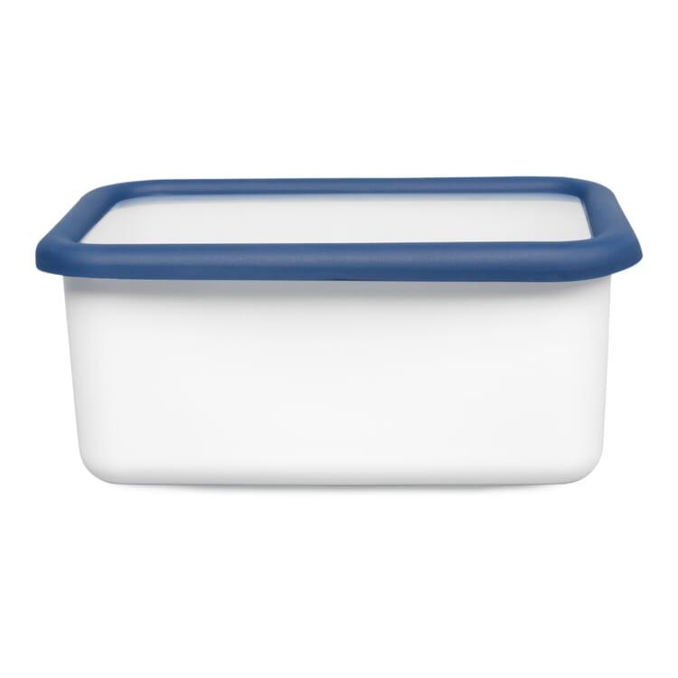 Vorratsbehälter Emaille Blauweiss, 1,12 l