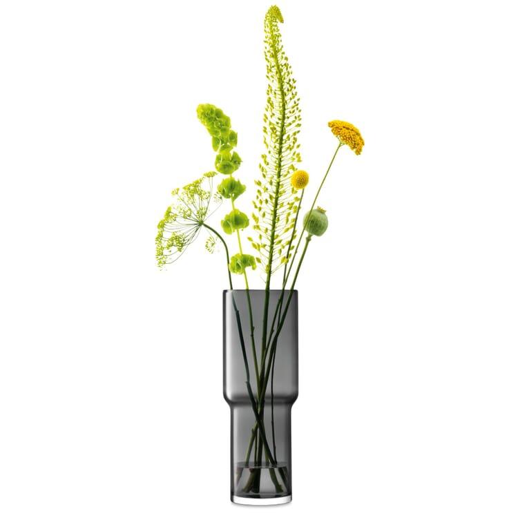 Vase Utility 42, Schiefergrau
