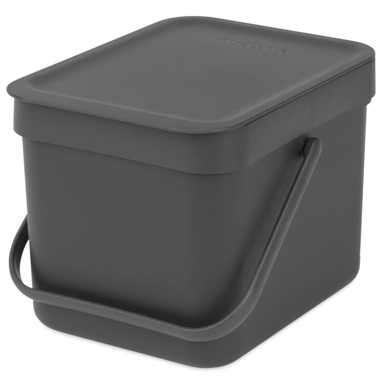 Abfallbehälter Sort & Go 6 l Anthrazit