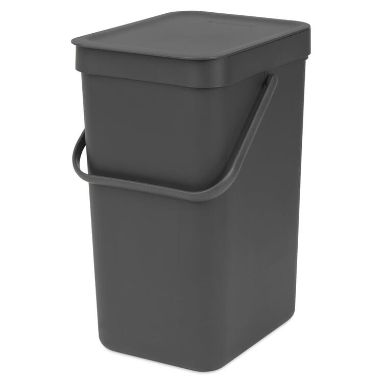 Abfallbehälter Sort & Go 12 l Anthrazit