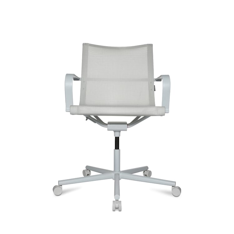 Arbeitsstuhl D1, Weiß