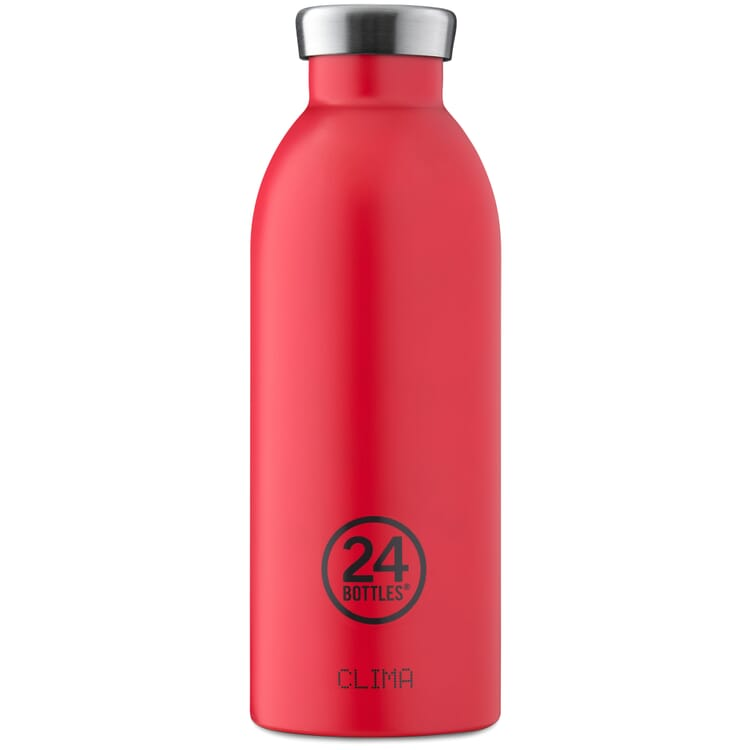Trinkflasche Clima, klein, Rot