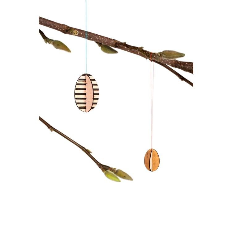 Osterschmuck Birkenrinde Streifen
