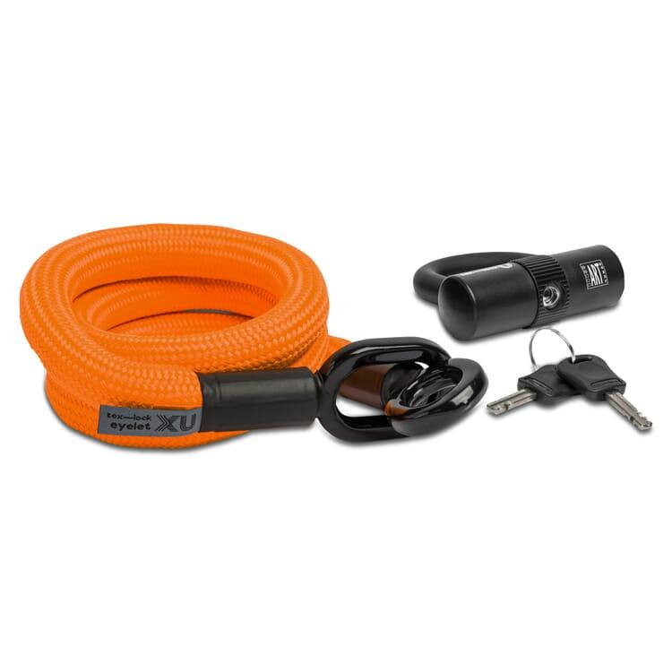 Radschloss tex–lock 2.0, Orange
