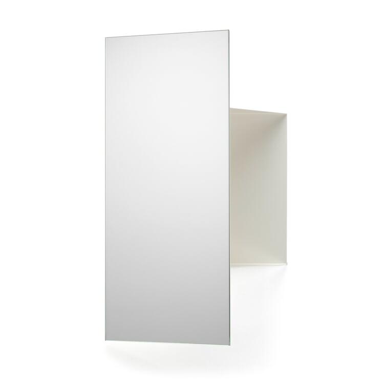 Spiegel und Ablage JANUS Reinweiß RAL 9010