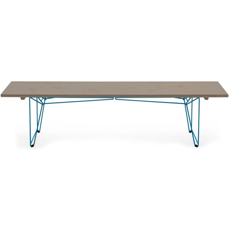 Tisch und Bank BTB Gestell, Lichtblau RAL 5012
