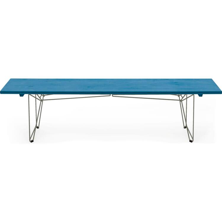 Tisch und Bank BTB Platte, Lichtblau RAL 5012