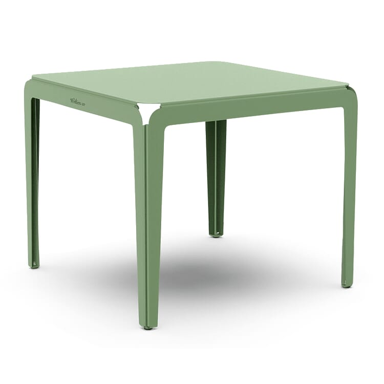 Tisch Bended Table 90, Blassgrün RAL 6021