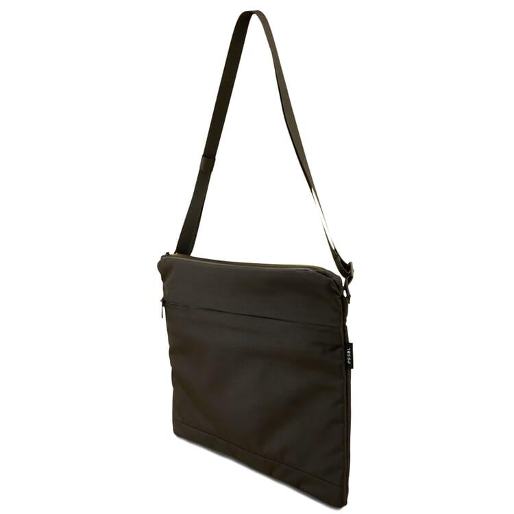 Tasche Musette, Schwarz