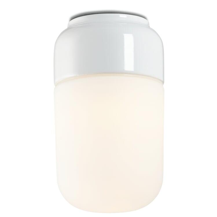 Wand- und Deckenleuchte OHM 2 Weiß/Mattglas