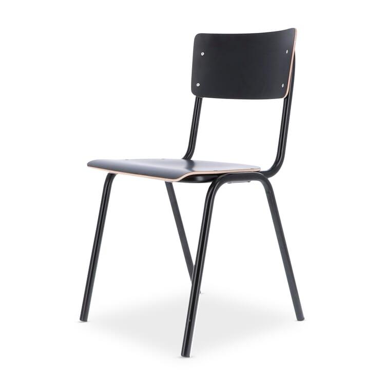 Stuhl Colegio, Schwarz / Tiefschwarz RAL 9005