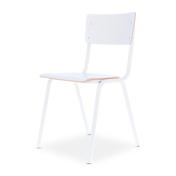 Stuhl Colegio, Weiß / Reinweiß RAL 9010